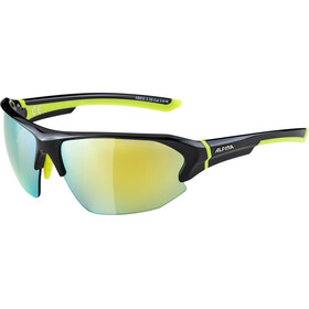 Alpina Lyron HR Glasses black-neon yellow